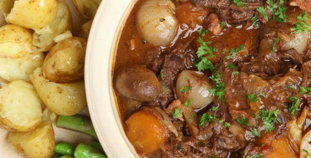 Stew beef and vegetables