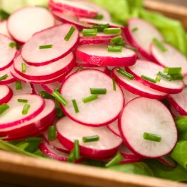 Radish Salad with Chives
